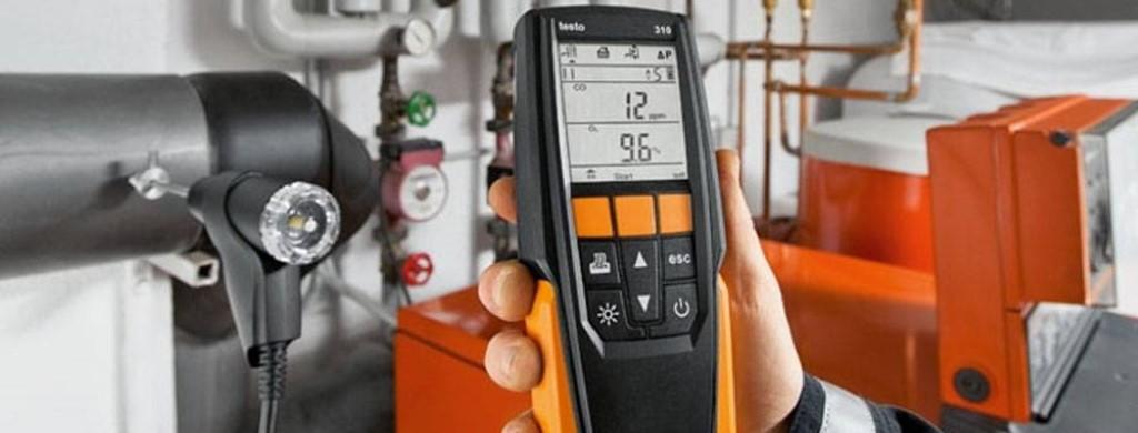 Измерение дымовых газов